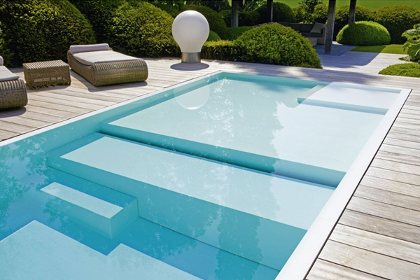 planification de la construction d 39 une piscine. Black Bedroom Furniture Sets. Home Design Ideas