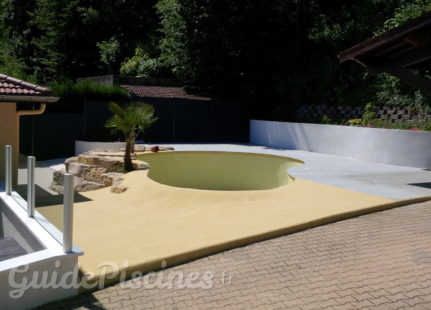 Photos de jcb jacquinot construction b timent for Transformation piscine