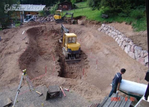 Photos de merlet paysagiste for Guide construction piscine