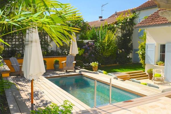 Les cr ations et les innovations du salon piscine spa for Mini piscine miroir