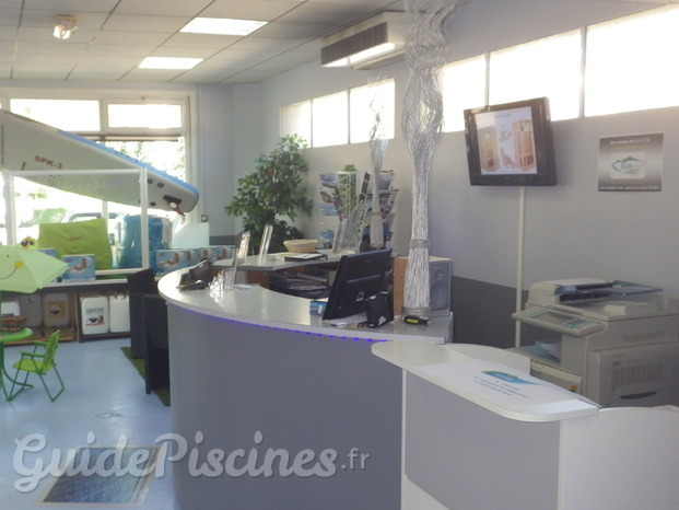 Acceuil magasin piscine