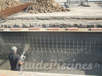 Piscine en b ton pyr n es orientales - Piscine beton projete prix ...