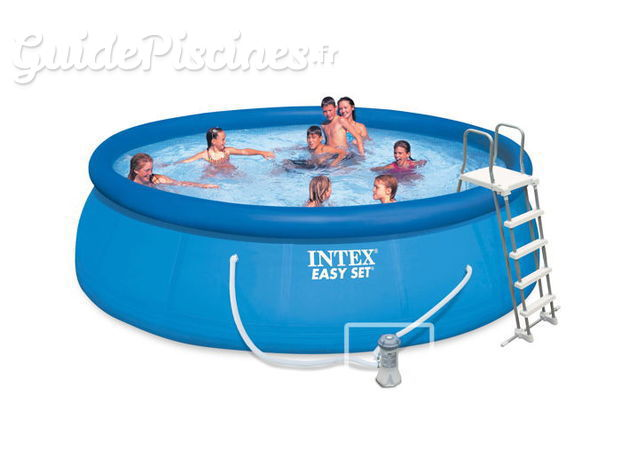 Piscine autoportee Easy Set Intex dimension : 4-57-x-1-22-m