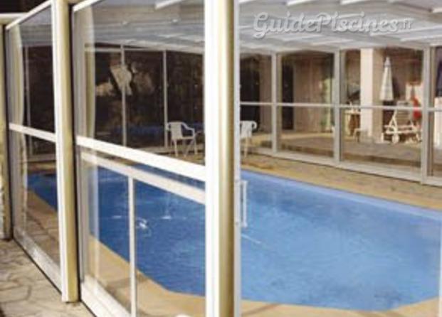 Abris telescopiques for Abris piscine eureka