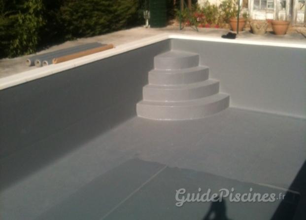 Photos de aqua 39 piscina for Piscine pvc arme gris fonce
