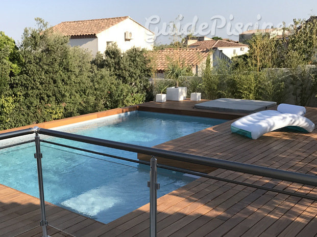 Construction piscine traditionnelle