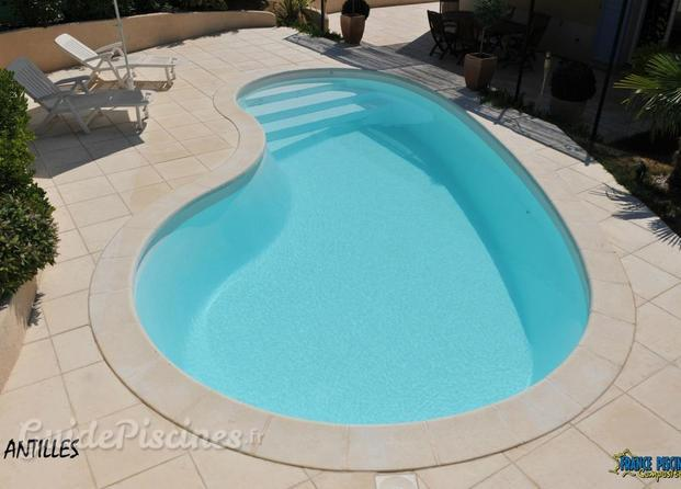 Photos de sarl aqua blue europa for Piscine haricot