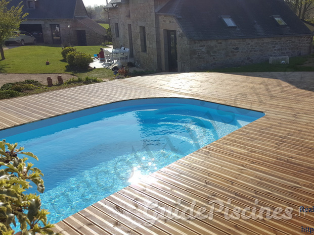 Pose de piscine  et spa