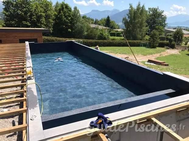L man piscines services for Construction piscine zone a