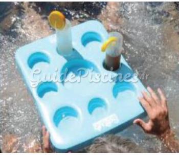 Plateau flottant for Bar gonflable pour piscine