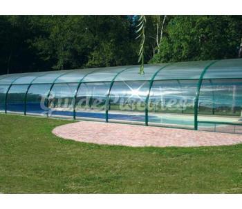 Catalogue de bonheur piscines for Prix abri haut piscine