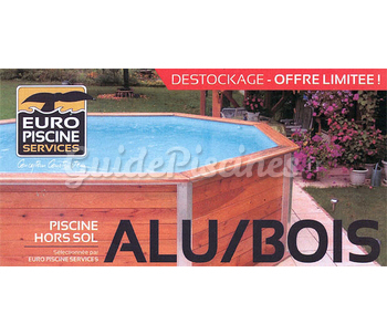 Piscine Hors Sol Alu/ Bois Catalogue GuidePiscines.fr