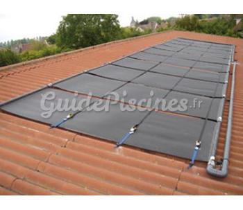 Chauffage solaire de piscine for Panneau solaire pour piscine enterre