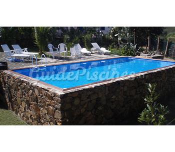 Italia piscine laghetto best garden ideas - Piscine hors sol aspect bois ...