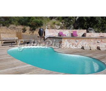 Piscine mod le madrid fond plat for Modele piscine
