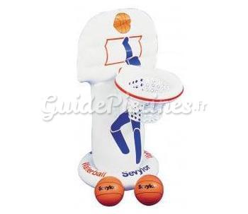Panier de basket piscine for Panier de basket pour piscine