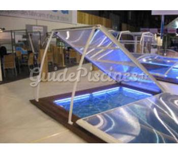 abri piscine plat amovible. Black Bedroom Furniture Sets. Home Design Ideas