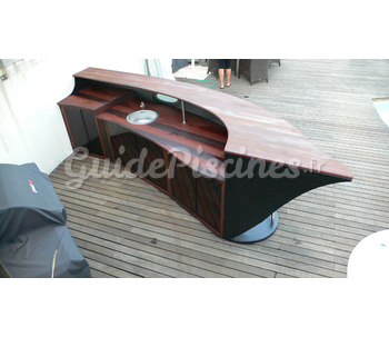 Bar ext rieur 4m - Bar exterieur pour piscine ...
