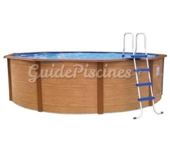 piscines hors sol acier d cor bois. Black Bedroom Furniture Sets. Home Design Ideas