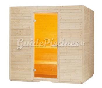 sauna basic lambris et po le 2 tailles. Black Bedroom Furniture Sets. Home Design Ideas